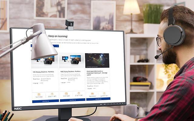 NEC lança portal dedicado a Webinars