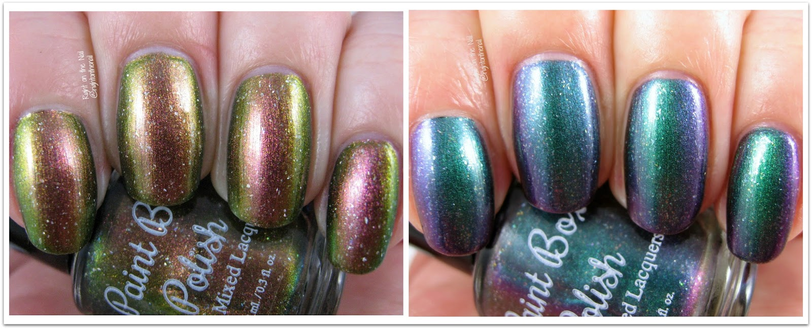 Right on the Nail: Paint Box Polish The 12 Collection Swatches and ...