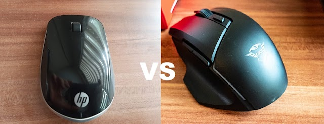 Head to head test: Trust GXT 161 Disan vs HP Wireless Mouse Z4000
