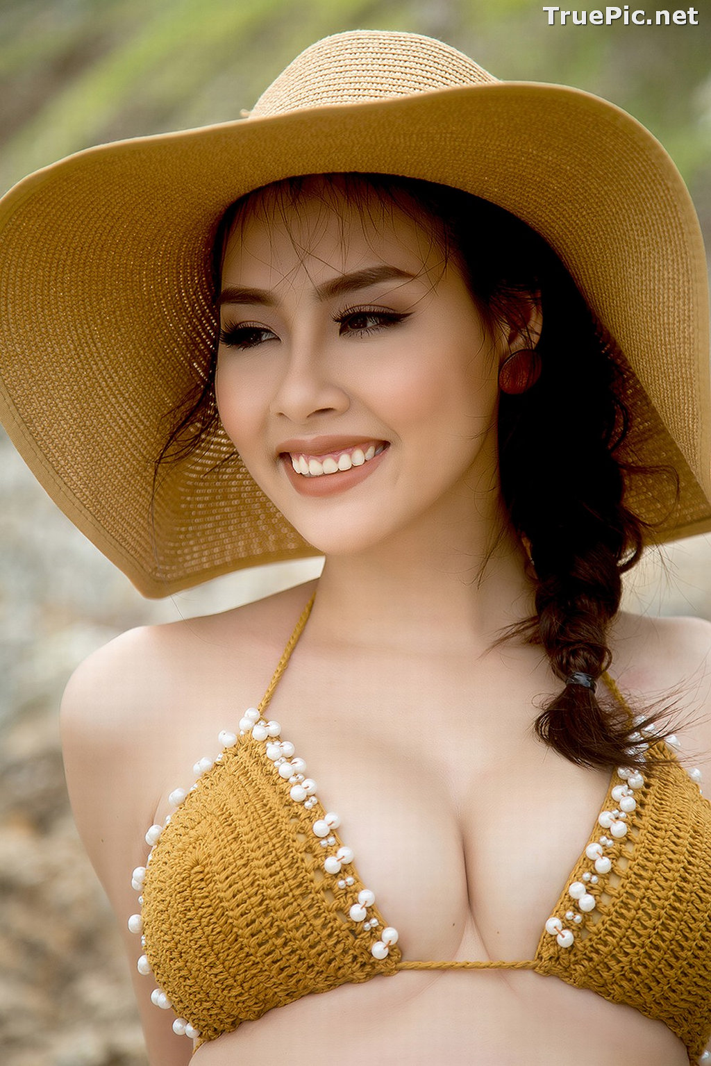 Image Vietnamese Hot Model - Thuy Trang - Wool Bikini Collection - TruePic.net - Picture-5