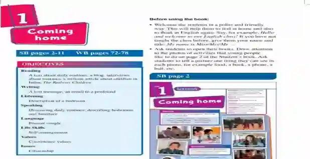 دليل المعلم لغة انجليزية للصف الثانى الاعدادى ترم اول 2021