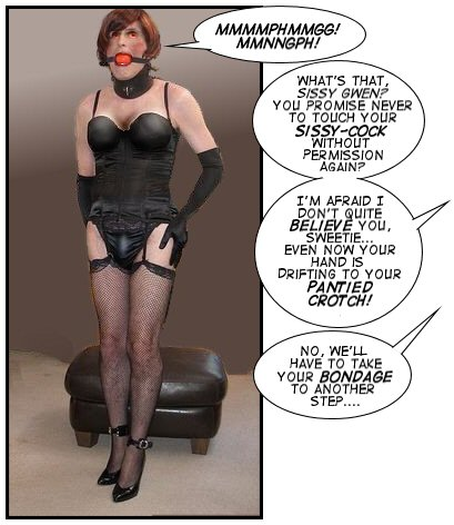 Opinion you sissy in bondage idea remarkable