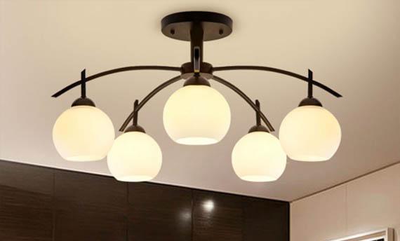 Lampu ruang tamu minimalis