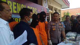 Polres Cirebon Kota Menyatakan Perang Terhadap Peredaran Narkoba