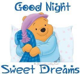 good night and sweet dream wishes