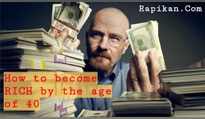 15 cara menjadi kaya raya di usia 40 tahun