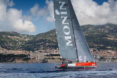 Isabelle Joschke et Alain Gautier, deuxièmes des Monaco Globe Series