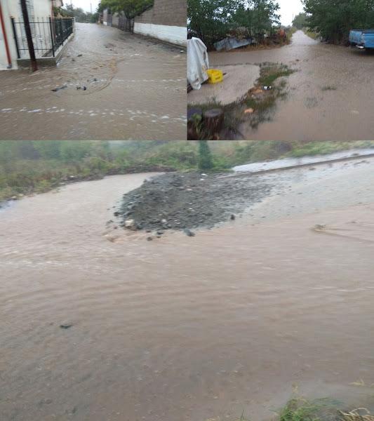 Πλημμύρες στο οροπέδιο της Ξυνιάδας
