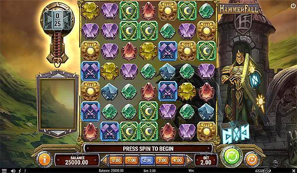 Main Gratis Slot Indonesia - HammerFall Play N GO