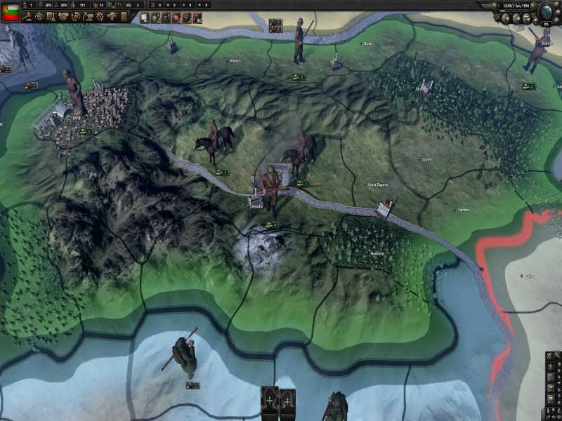 Hearts of Iron IV Battle for the Bosporus Highly Compressed Free Download