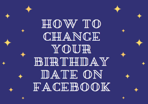 can you change your birthday