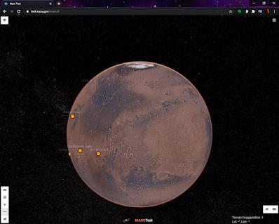 NASA's Mars Trek