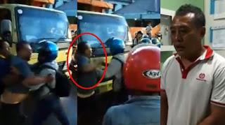 Usai Ngamuk dan Nantang Anggota TNI Duel, Begini Wajah Sopir Truk Saat Berada ke Denpom