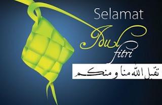 Ucapan Selamat Hari Raya Lebaran Idul Fitri Terbaru 2016 / 1437 H
