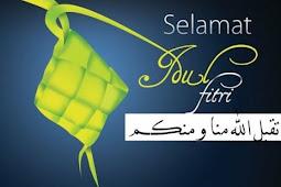 Ucapan Selamat Hari Raya Lebaran Idul Fitri Terbaru 2017 / 1437 H