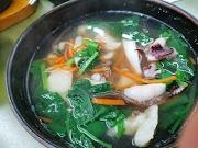 林記麵疙瘩  必吃透抽海鮮麵疙瘩   永安市場四號公園美食推薦