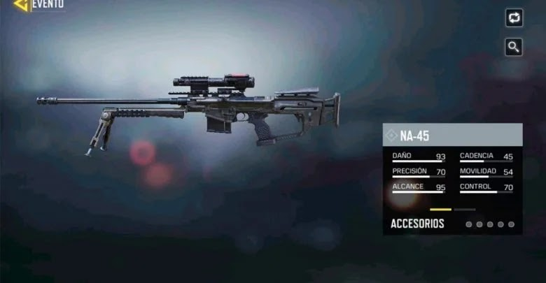Sniper rifles and missile launchers in Call of Duty: Mobile