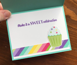 Stampin' Up! Sweetest Thing Birthday Card ~ 2019 Occasions Catalog ~ How Sweet It Is DSP ~ www.juliedavison.com