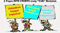 "Fungsi DPM UNISNU  ""tidak"" terlaksana, Fungsi DPM, Amanat DPM"
