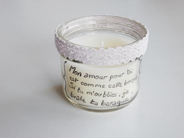 DIY : Une bougie pour la Saint Valentin