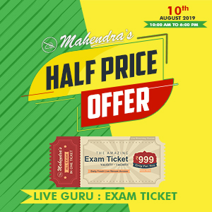 Mahendras Half Price Offer