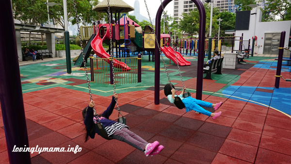 hong Kong public playgrounds - travel with kids