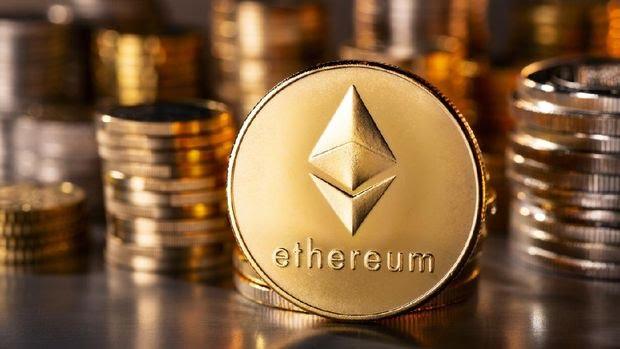 Etherum termasuk salah satu mata uang kripto terbaik saat ini (Foto: istockphoto/gopixa)