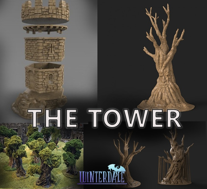 Tabletop Fix: Printable Scenery - New Terrain Kickstarter