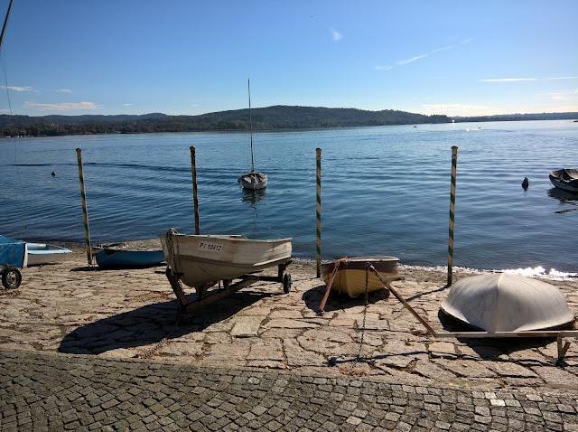Barche a Remi Lago Maggiore