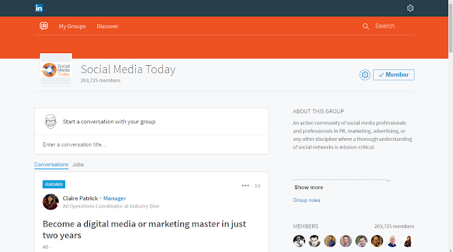 Invest Time, Thought, Content, and Effort in your LinkedIn Group