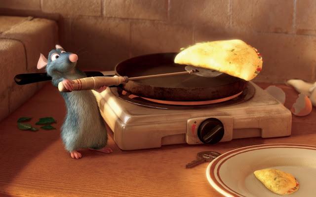 imagen de la rata Remy protagonista de la película Ratatouille de Pixar Animation