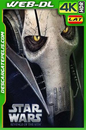 Star Wars Episodio III: La venganza de los Sith (2005) 4k HDR WEB-DL Latino – Ingles