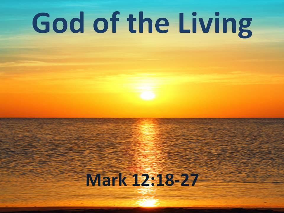 Image result for god of the living