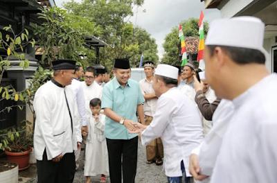 Warga Sukarame Doakan Ridho Ficardo Terus Memimpin Lampung