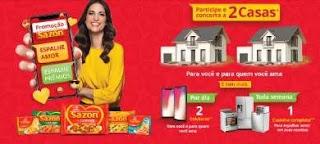 Cadastrar Promoção Sazón 2019 Espalhe Amor - 2 Casas, 2 Celulares Por Dia e Cozinha Completa