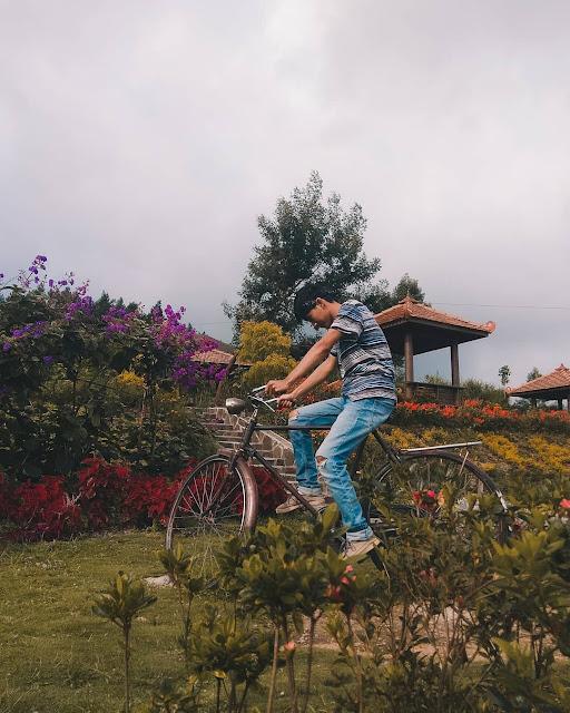 Taman Bunga di Boyolali