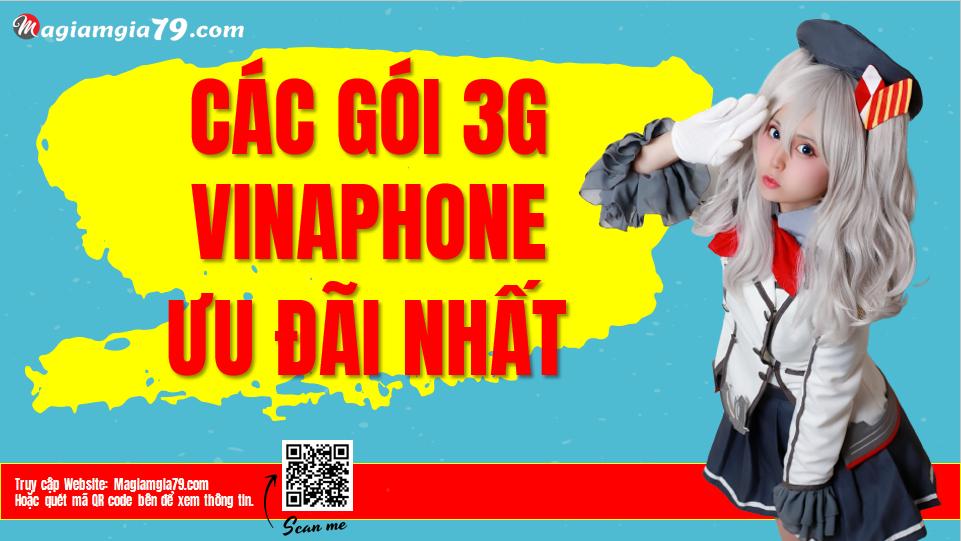 Bảng giá gói 3G Vinaphone
