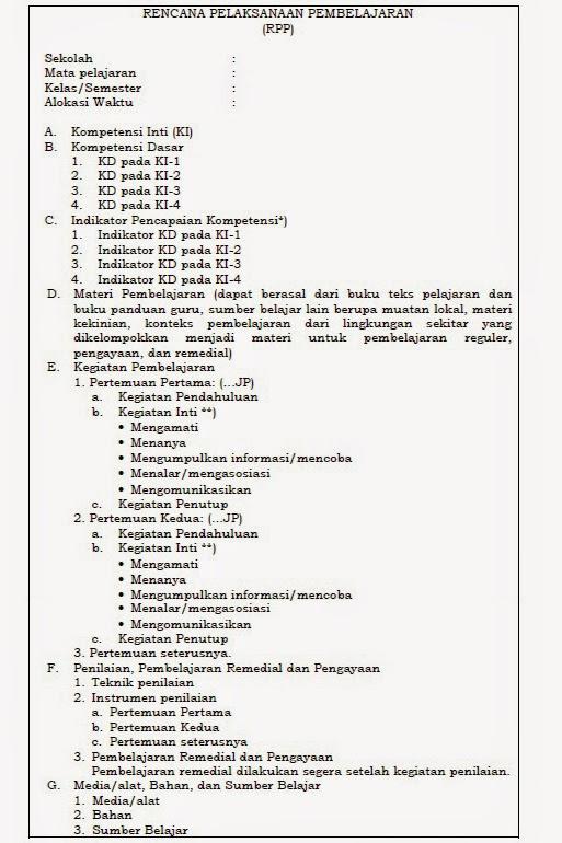 Contoh Rpp Permendikbud No 22 Tahun 2016 Pdf : contoh, permendikbud, tahun, Contoh, Sesuai, Permendikbud, Tahun, Dengan