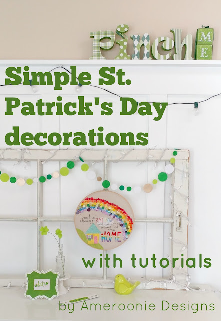 Simple St. Patrick's Day decorations you can make this weekend