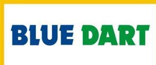 Blue Dart Dhl courier logo