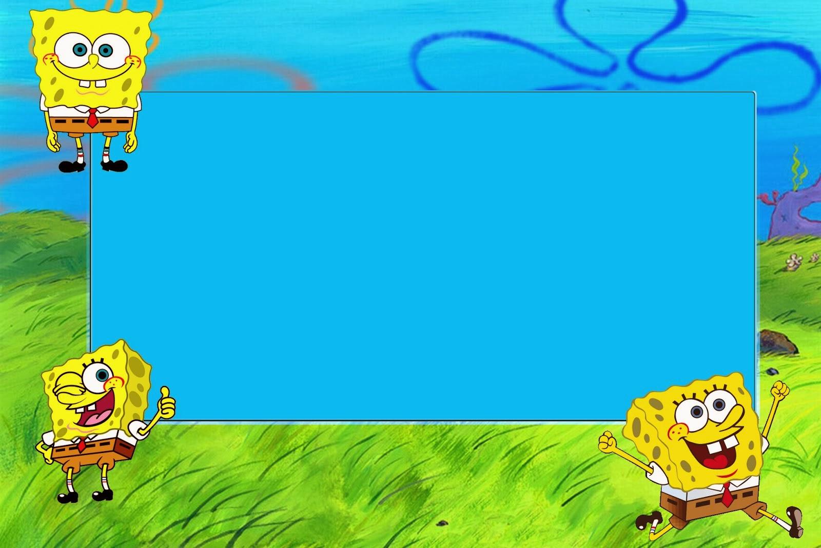 Spongebob 1st Birthday Invitations Menshealtharts