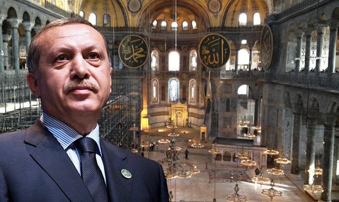 Ερντογάν: Θα προστατεύσουμε τα κυριαρχικά μας δικαιώματά όπως κάναμε με την Αγία Σοφία