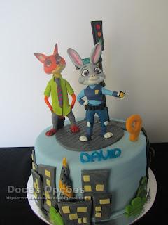 cake Zootrópolis