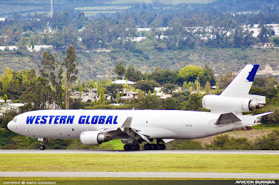 Western Global en Quito MD11