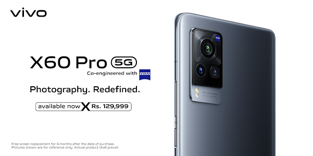 vivo's Latest 5G Flagship Smartphone X60 Pro is Now Available For Sale in Pakistan