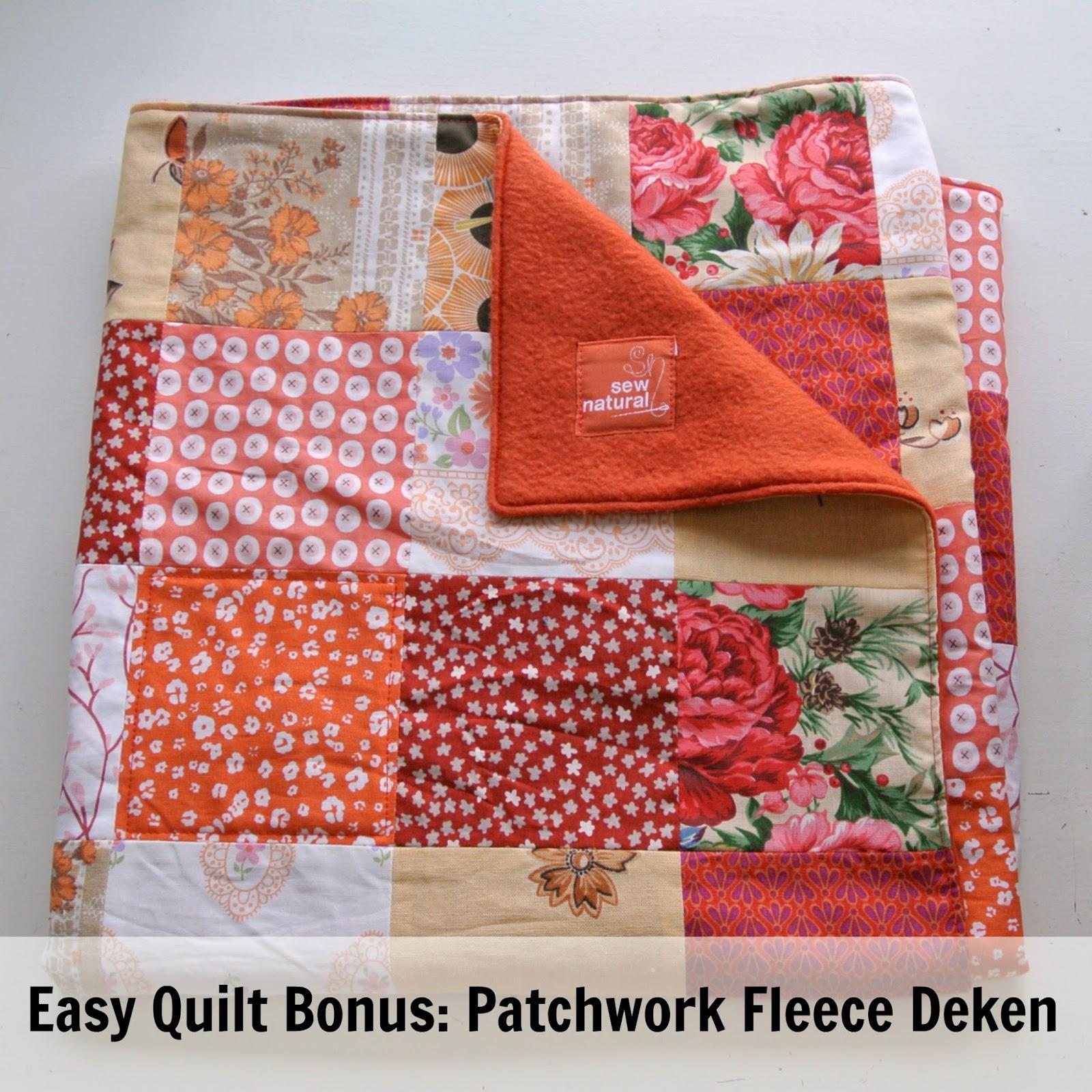 Afwerken Van Een Quilt.By Miekk Easy Quilt Bonus Een Nog Makkelijkere Lappendeken