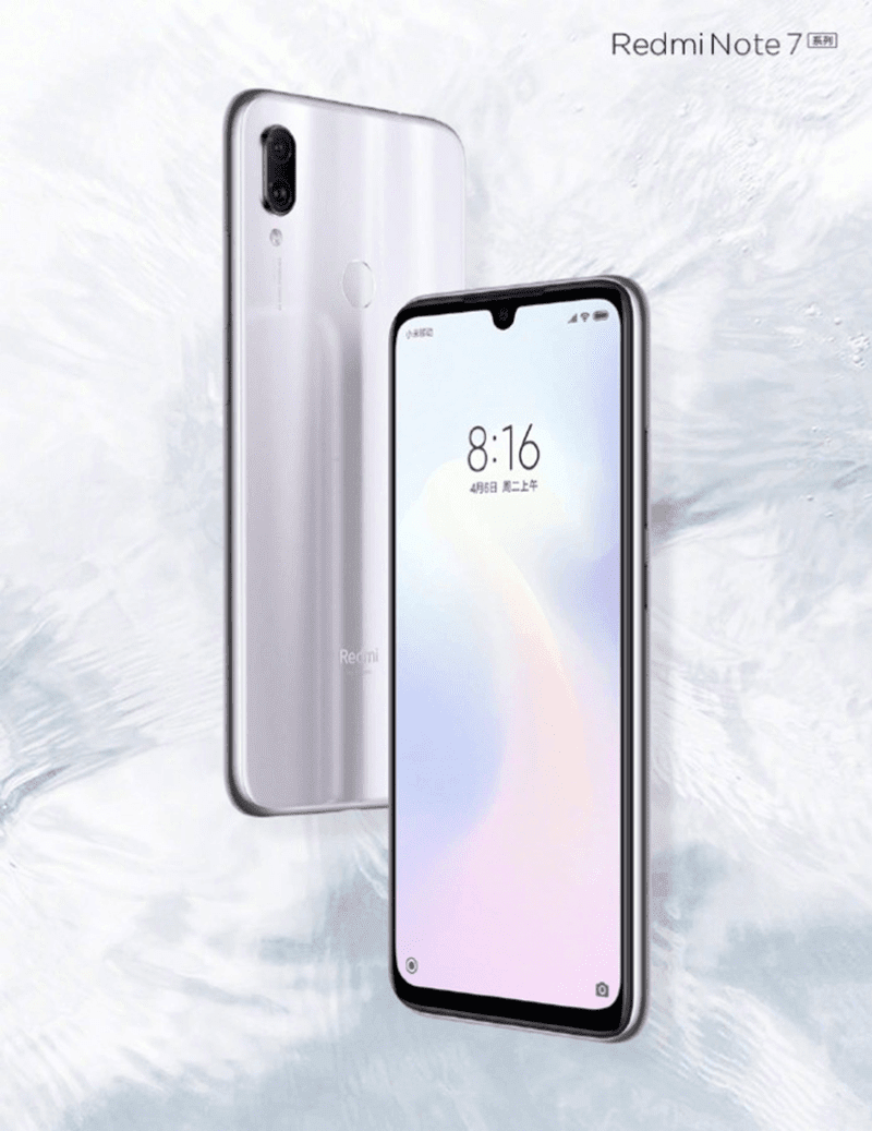 Redmi to launch Note 7 with silver colorway