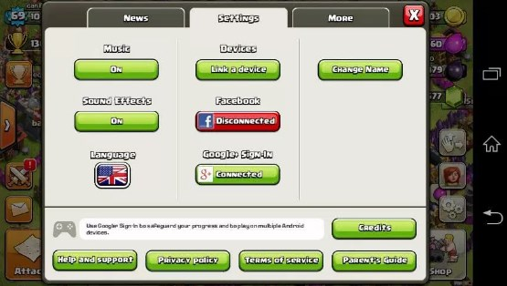 clash of clans facebook