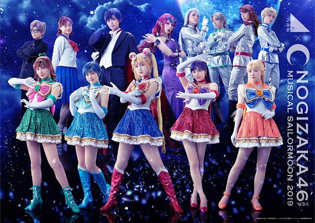 Nogizaka46-ban Musical Bishoujo Senshi Sailor Moon 2019 191014 (TBS)