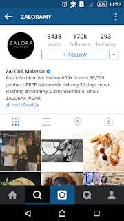 Zalora MY on Instagram